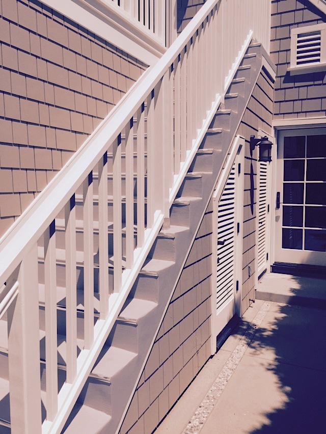 Deck Side Stairs 1