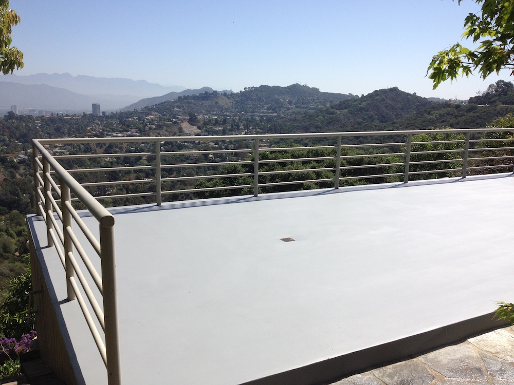 Stone Pool Deck - 1